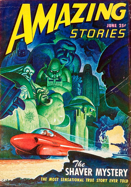 AMAZING STORIES - June 1947