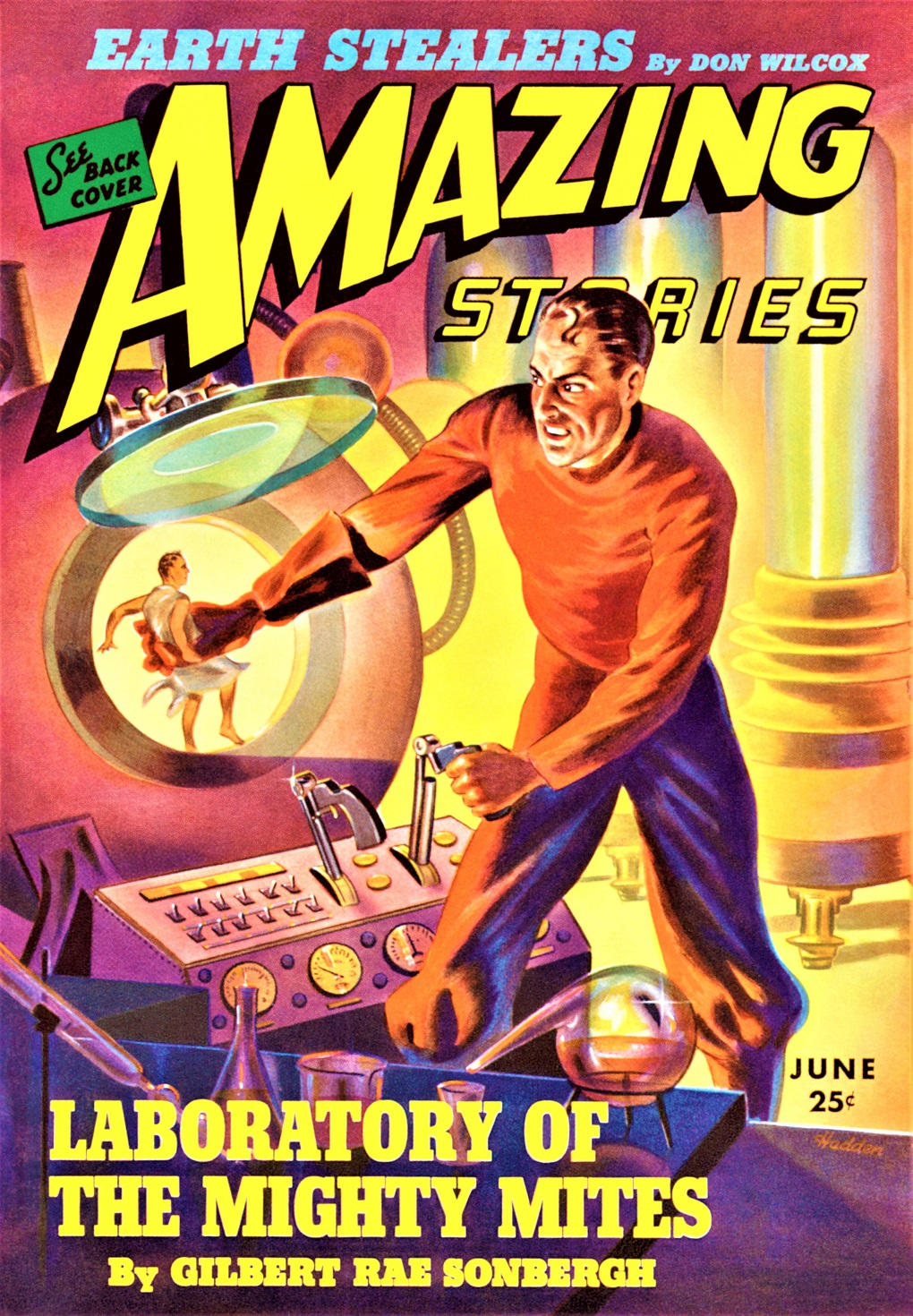 AMAZING STORIES COVER - June 1943