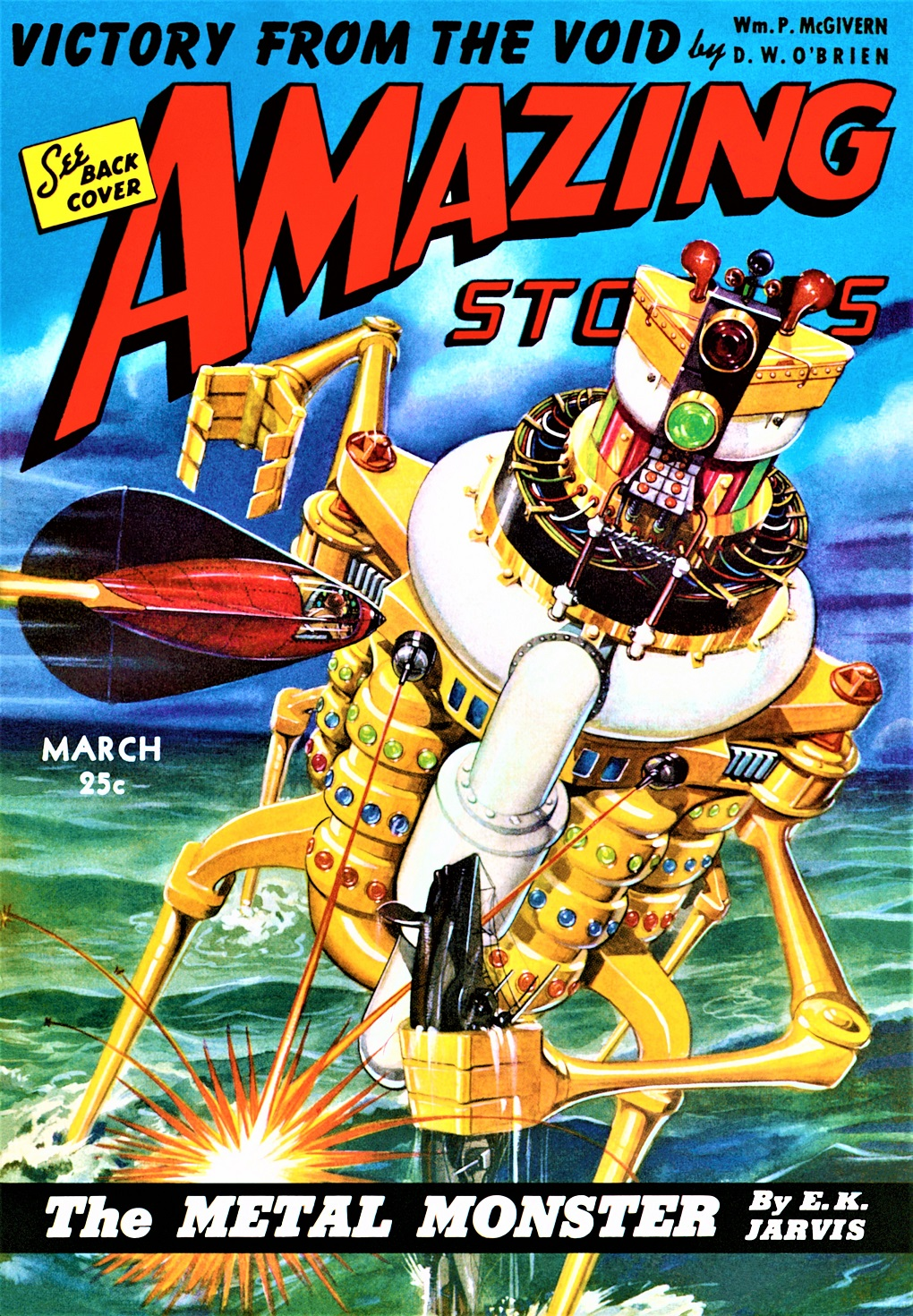 AMAZING STORIES - March, 1943